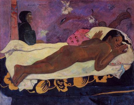 Paul Gaugin, Manaò tupapaú (El espíritu de los muertos)