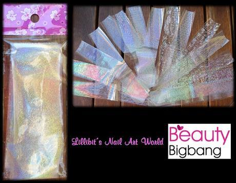 Foil holográfico de Beauty BigBang