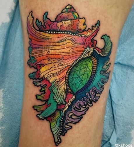 28 Tatuajes espectaculares inspirados en el mar