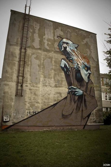 Increíbles murales gigantes de Prezemek blejzyk
