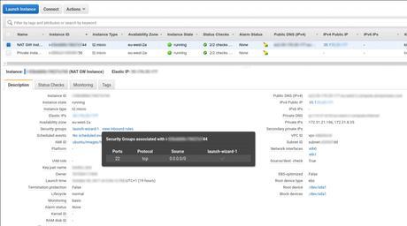 Conectividad de instancias en AWS. Instancias NAT y puertas de enlace