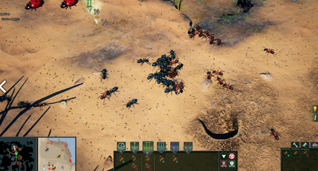 Gestiona tu colonia de hormigas con Empires of the Undergrowth