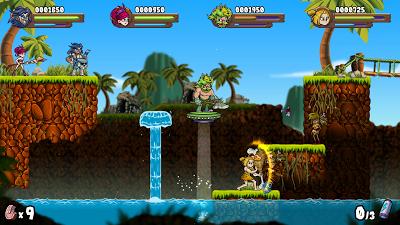 El juego español 'Caveman Warriors' para Switch ya tiene fecha de salida