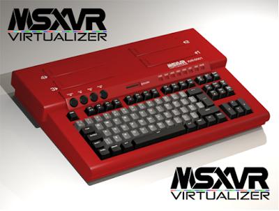Dos vídeos muestran el funcionamiento del VRoBIT y su nueva denominación: 'MSXVR Virtualizer'