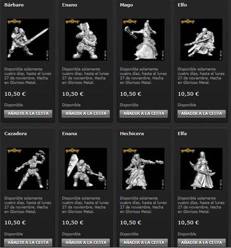 Miniaturas de HQ25ª de Gamezone a la venta por Black Friday