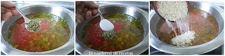 Arroz con Tomate & Pimientos Fritos