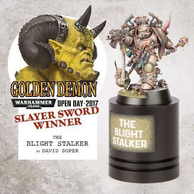 David Soper, ganador del Golden Demon del W40K Open Days