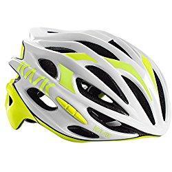 Kask Mojito 16 -Casco de bicicleta, MOJITO 16, White/Yellow fluo