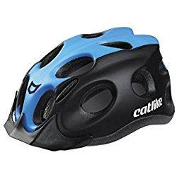 Catlike Tiko Casco de Ciclismo, Unisex adulto, Negro / Azul (Mate), M/55-61 cm