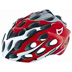 Catlike Whisper Plus - Casco de ciclismo para adulto multicolor Red/White/Black Talla:S=50-53cm