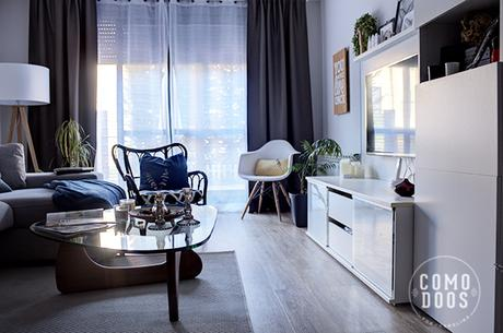 Salon mueble blanco