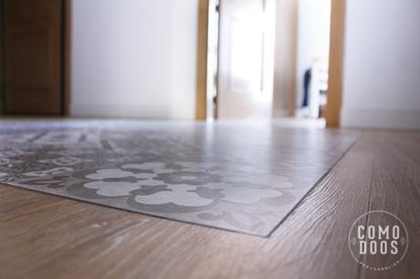 Encuentro suelo ceramico y madera