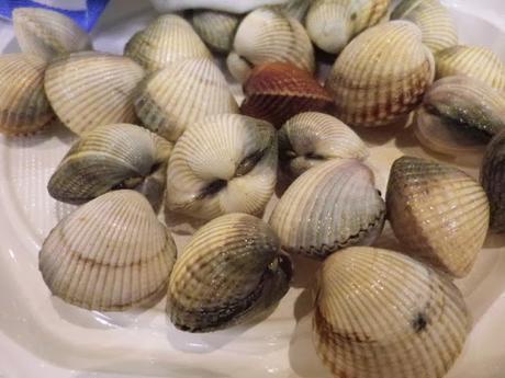 Marisco gallego y sopa de mariscos