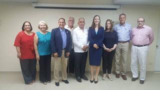 Embajadora de Canadá en la RD visita la Cámara de Comercio de Puerto Plata