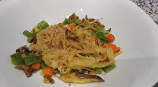 Receta noodles de arroz