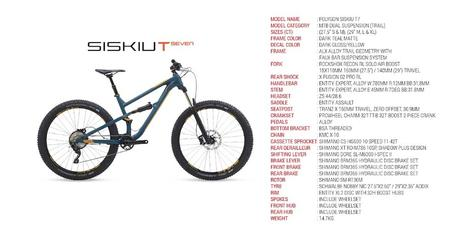 Polygon Siskiu T, nueva trail con sistema Wheel Fit Size