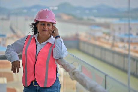 Ilya R de Marotta La panameña que lideró la Ampliación del Canal de Panamá
