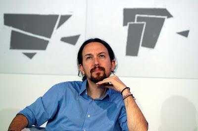 Pablo Iglesias y el Rey.