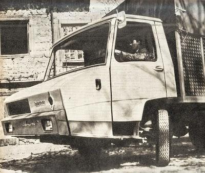 Camión Berliet Stradair