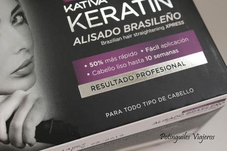 Kativa Keratin Alisado Brasileño // ¿Es efectivo? ¿Funciona?