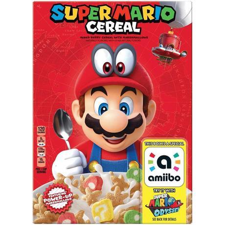 Estarían en camino unos cereales de Super Mario Odyssey con amiibo incluido