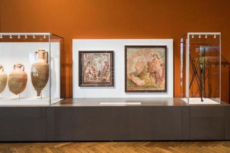 Una exposición reconstruye la vida de Pompeya cuando el Vesubio la abrasó