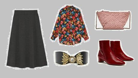 Ideas para Combinar una Falda Midi