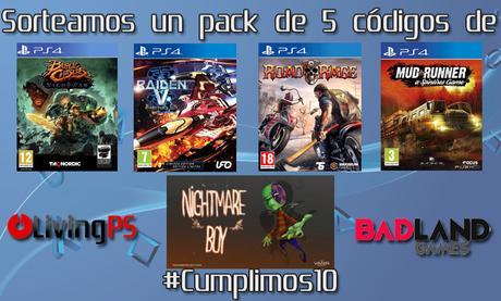 Sorteamos un pack de 5 juegos de BadLand Games