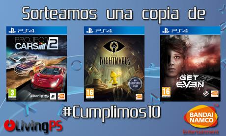 Sorteamos una copia de Project CARS 2, Little Nightmares y Get Even
