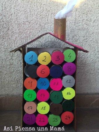 Calendario de Adviento DIY, para una mamá sin tiempo