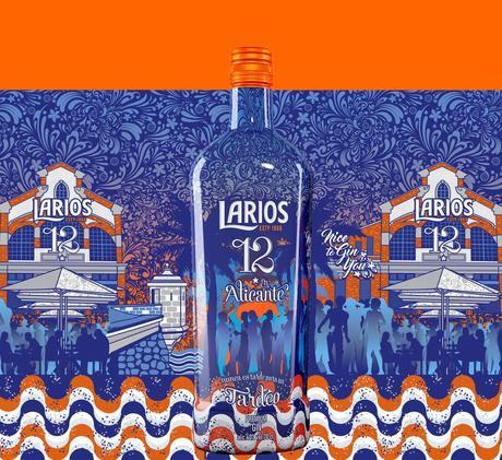 """Larios 12 homenajea al """"tardeo"""" alicantino con una nueva edición especial de su botella"""
