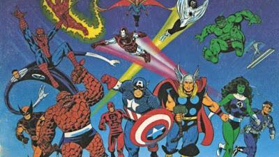 Material OOP para Marvel Super Heroes RPG