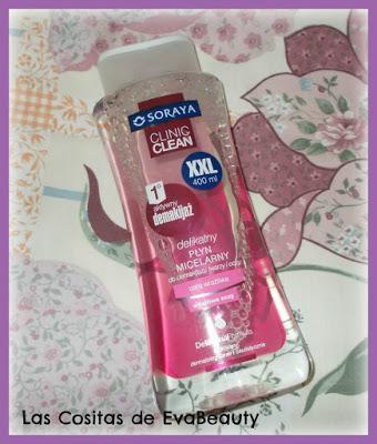 Agua micelar ojos y pieles sensibles SORAYA Clinic Clean