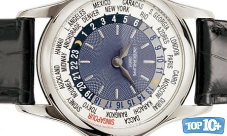 Patek Philippe Platinum World Time-entre-los-10-relojes-mas-caros-del-mundo-