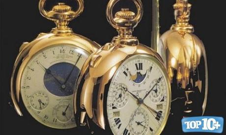 Patek Philippe Henry Graves 'Supercomplication-entre-los-10-relojes-mas-caros-del-mundo-