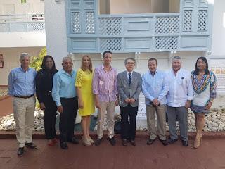 Embajador de Japón visita Pto Pta para fortalecer nexos de cooperación