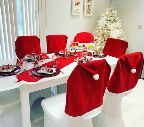 Decora tu mesa de Navidad