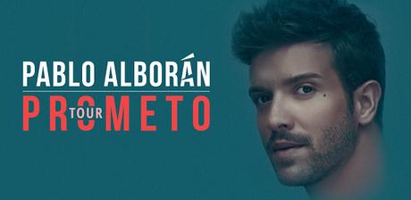 [INFO] Pablo Alborán anuncia las primeras fechas del Tour Prometo en España