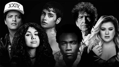 Nominados a los Grammy 2018