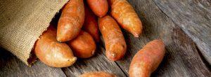 Batata: vegetal número uno en el ranking de la nutrición