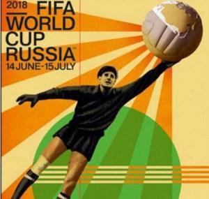 El póster oficial del mundial de Rusia tiene como figura a Lev Yashin