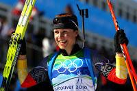 Magdalena Neuner Vancouve 2010