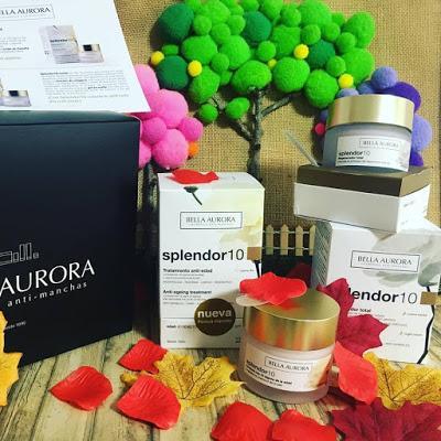 Bella aurora, cosmética antimanchas, pack anti edad, anti edad, splendor 10, el secreto de belleza de las geishas,