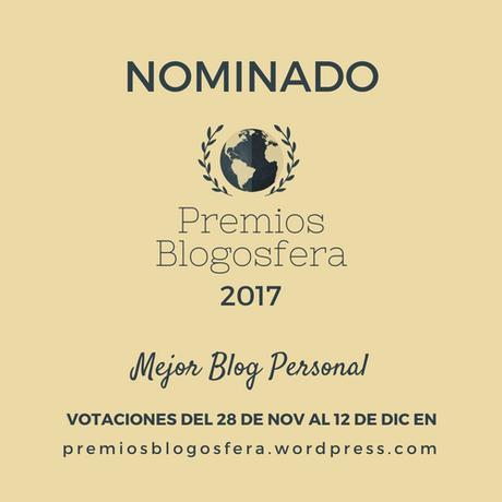Nominada Mejor Blog personal