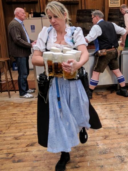 Cervezas en Munich. Alemania