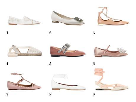 zapatos de novia planos www.bodasdecuento.com