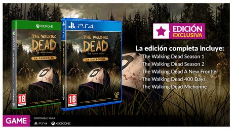GAME nos traerá la saga completa de The Walking Dead de Telltale Games