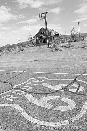 No os salgáis de la ruta 66