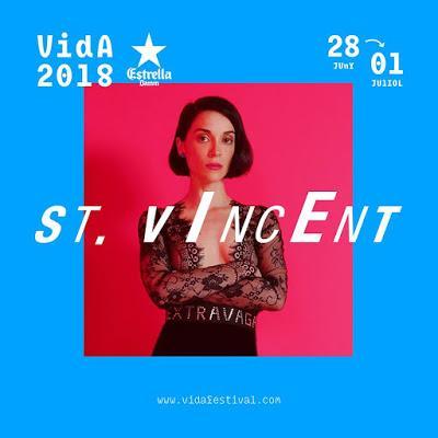 St. Vincent se apunta al Vida Festival 2018