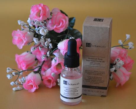 "El aceite facial ""Moroccan Rose Superfood Facial Oil"" de DR.BOTANICALS"